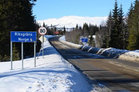 Inn i Norge igjen
