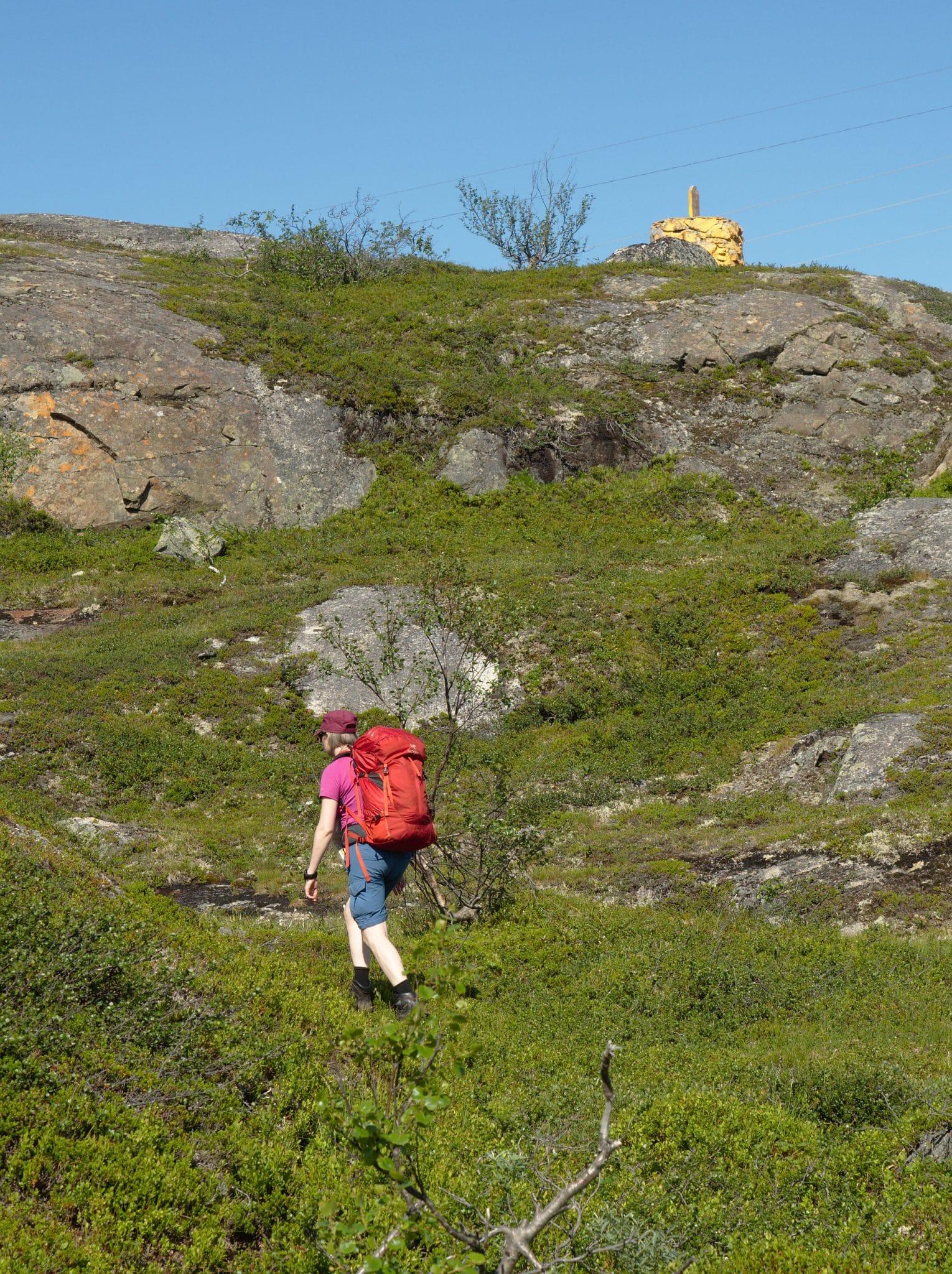 Siri er på vei til å krysse grensen tilbake til Norge